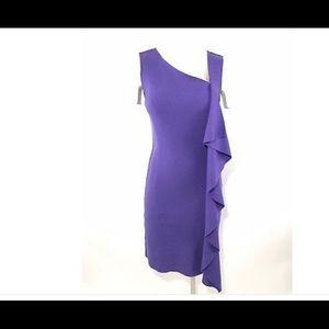 Flattering Tory Burch dress.
